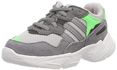 newest d5db9 b8640 adidas Originals Yung-96 El I Shoes 5.5 M US Toddler Grey Two Grey Three