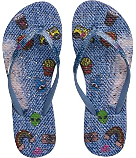 d72cb31bd Amazon.com  Showaflops Womens  Antimicrobial Shower   Water Sandals ...