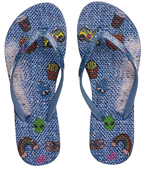 Womens' Antimicrobial Shower & Water Sandals for Pool Beach Dorm and Gym - Boho Bliss Collection