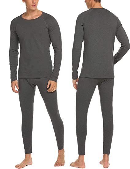0f0b23b0a Hotouch Men's Thermal Underwear Set Wicking Top and Pant Base Layer Long  John for Men