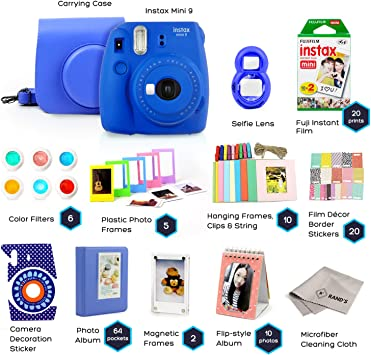 Rand's Camera Instax Mini 9 - Cobalt Blue product image 9