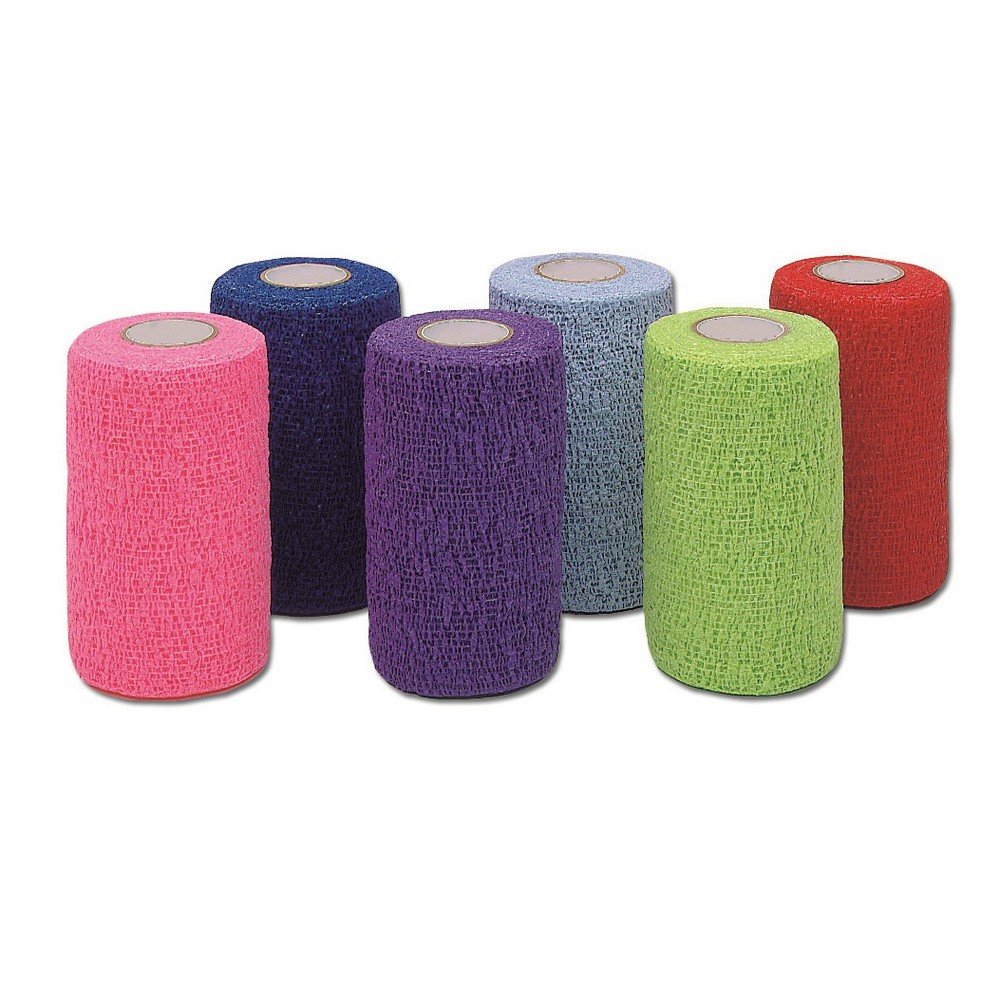Andover Vet Ecoflex Color Bandages (100 Pack) (Multicolored)