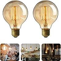 Mture Lumineuse avec Ampoule Blanc Chaud Lampes, Décoration intérieur et extérieur pour Patio, Café, Jardin, Décoration de Parti [Classe énergétique A]