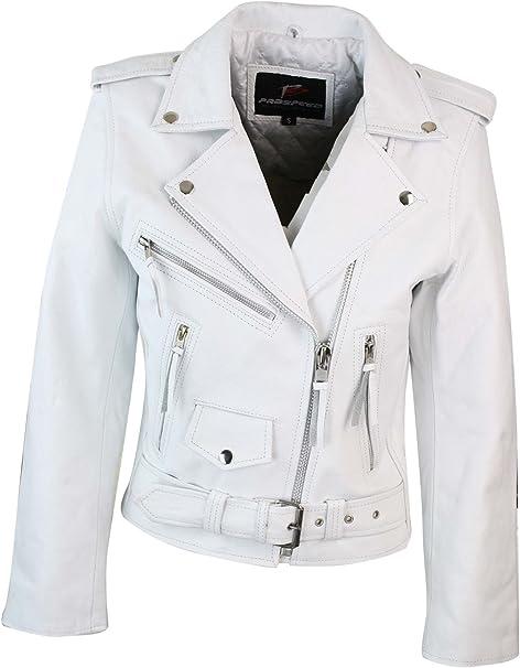 giacca bianca corta donna