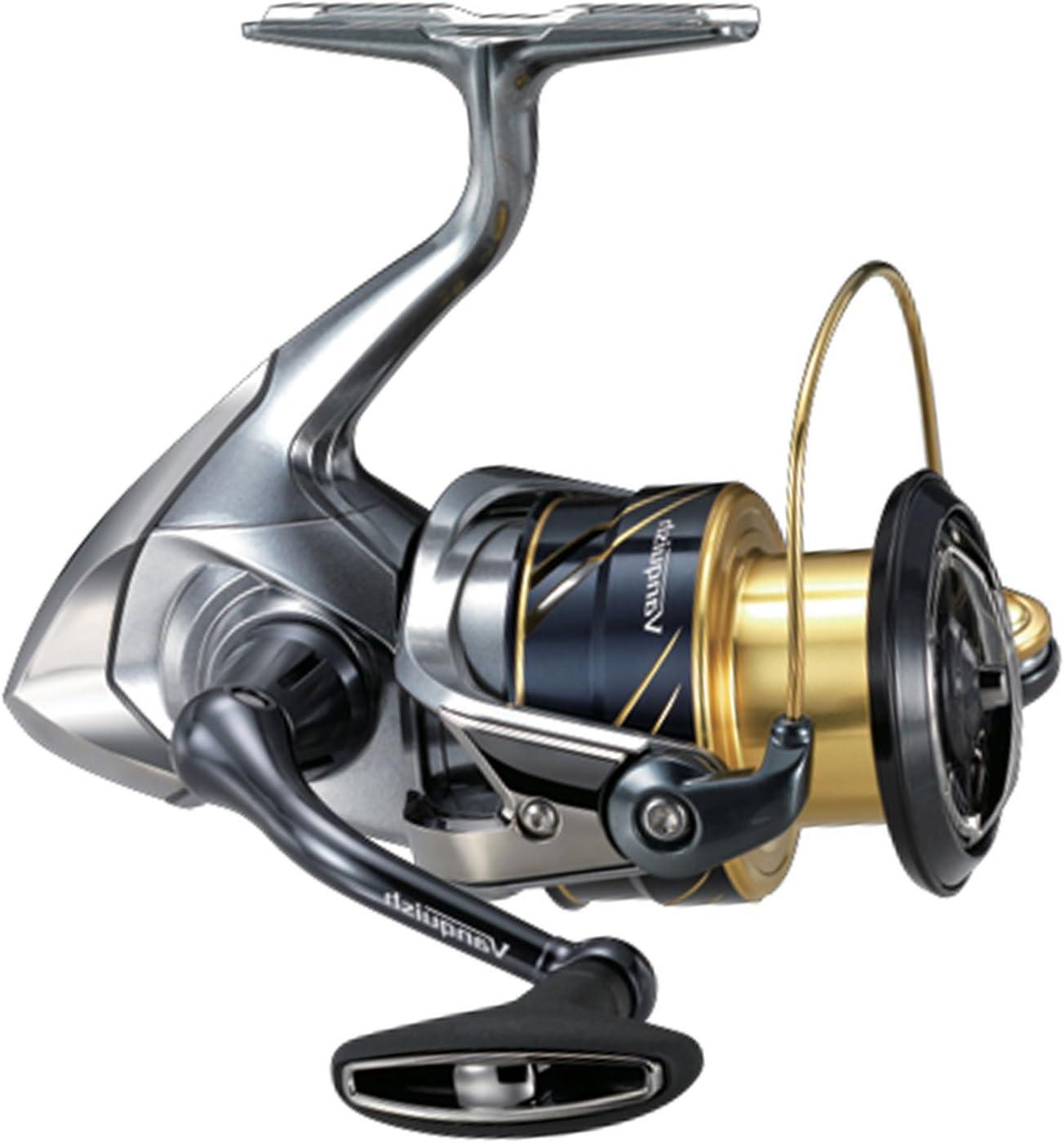 SHIMANO Carretes de Pesca Vanquish 4000 High Gear Spinning ...