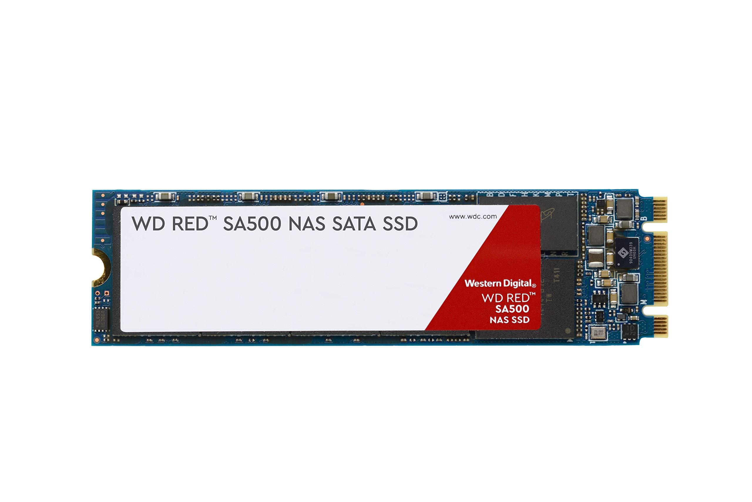 M.2 2280 500gb Sata Wd Red Sa500 Nas 500gb 3d Nand 6 Gb/s M.