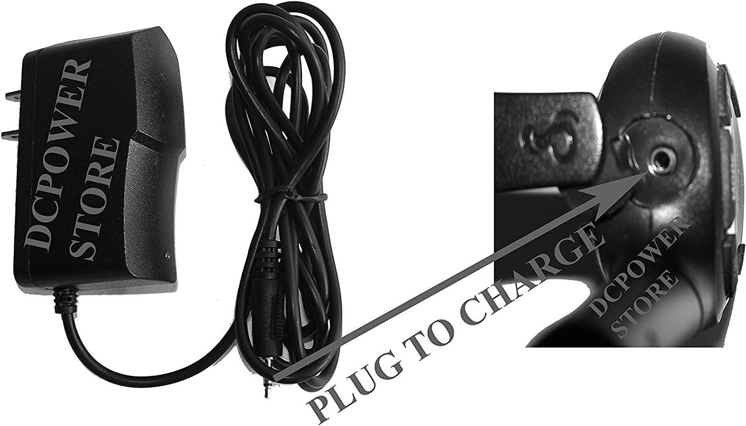 HOME WALL Charger Replacement for Cobra MicroTalk LI6050WX LI6050-2WXEVP 2-Way Radio