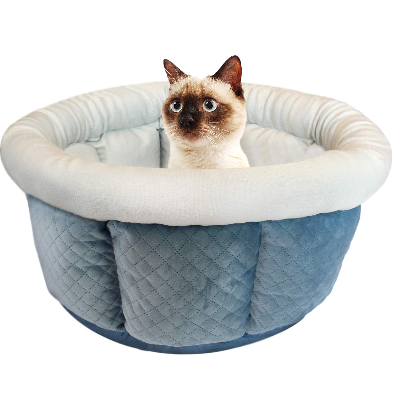 ASPCA Cuddle Cup Pet Bed for Cats and Dogs