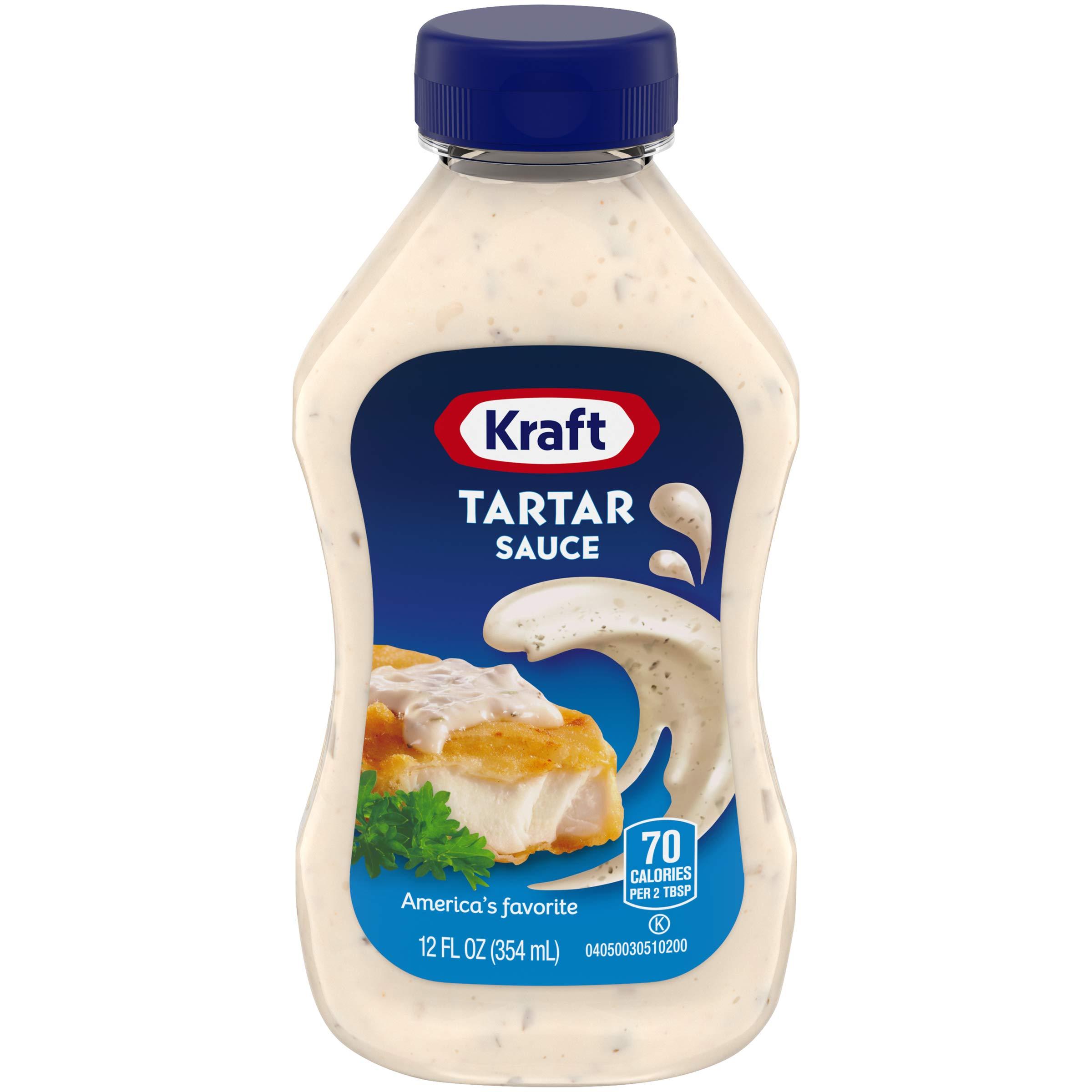 Kraft Tartar Sauce, 12 fl oz Bottle