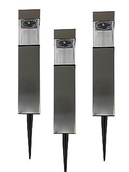 Grundig 3 Pieces Kit Lampes Solaire Lampe De Jardin Led Lampe