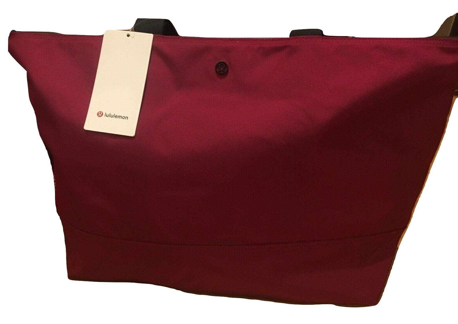 Lululemon Fundamental Large Tote Large 36L -Lightweight Perfect for travel-Red Respberry