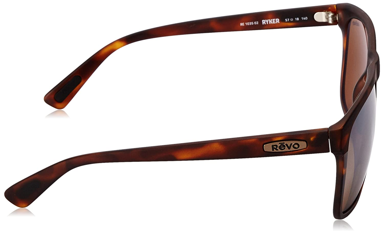 b3ef0fe7e6d Amazon.com  Revo Unisex Unisex RE 1035 Ryker Square Polarized UV Protection  Sunglasses  Clothing