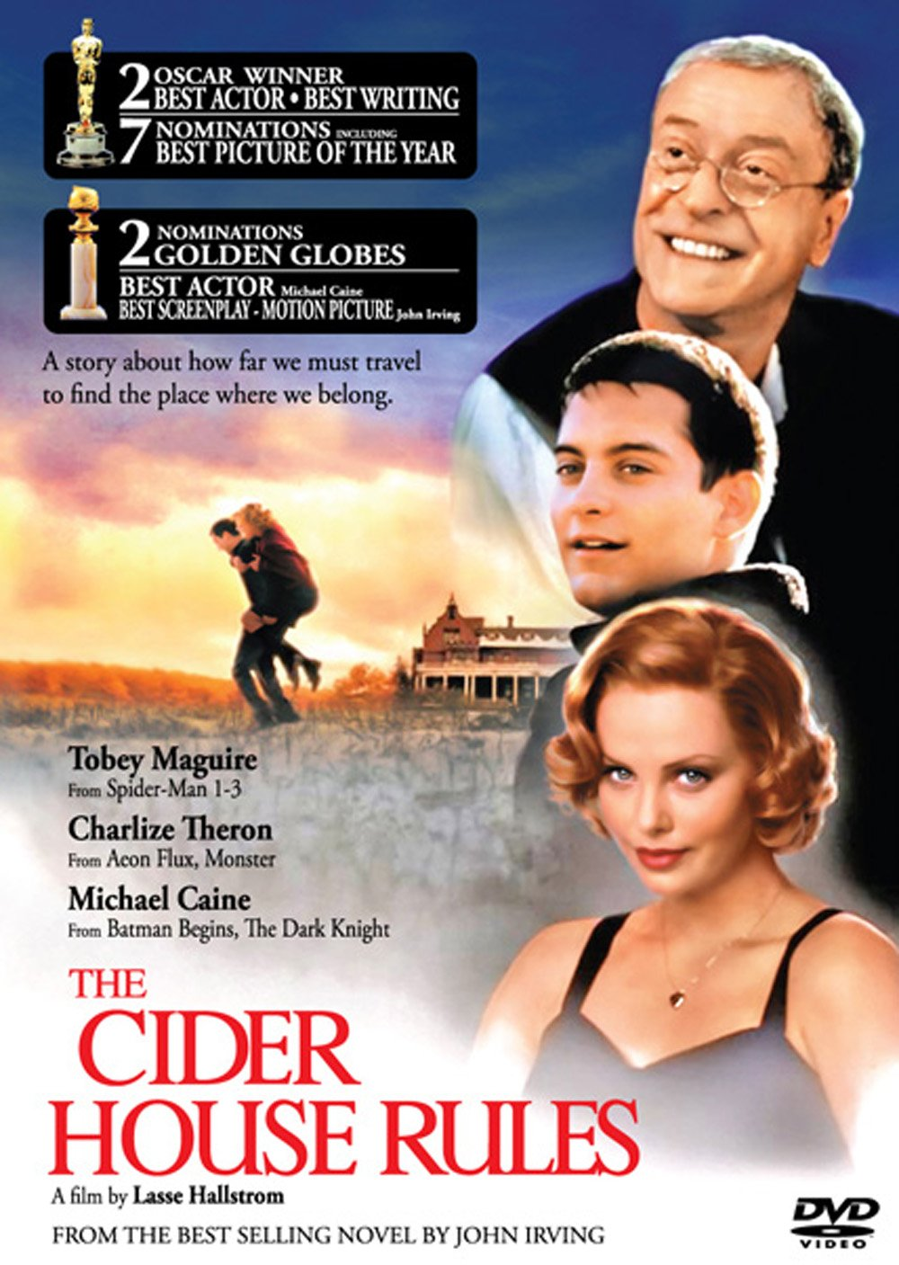 The Cider House Rules (1999): Amazon.co.uk: Tobey Maguire, Charlize Theron,  Michael Caine, Lasse Hallström: DVD U0026 Blu Ray