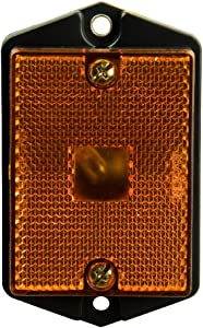 Blazer International B495A Rectangular Side Marker Light, Amber