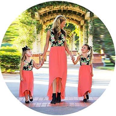 43aa0d4eaa2 Amazon.com  Sunward Mommy and Me Maxi Dresses