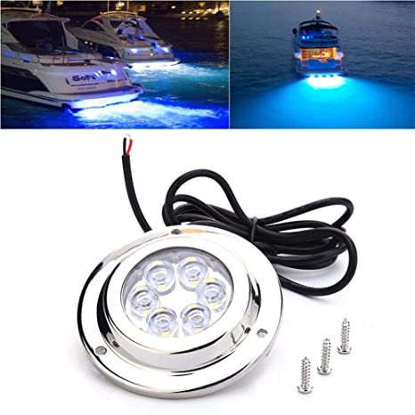 Amazon Com Blue Net Led Underwater Light Waterproof Ip68