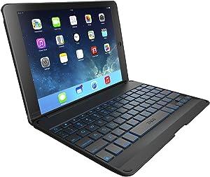 ZAGG Folio Case with Backlit Bluetooth Keyboardfor iPad Air - Black
