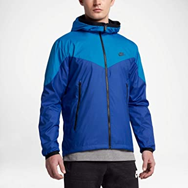 c49247a3f9 Nike Sportswear Windrunner 917809-435 Light Photo Blue Game Royal Men s  Jacket (Medium