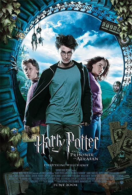 Amazon Com Harry Potter Prisoner Of Azkaban Movie Poster 2 Sided Rare Original Intl 27x40 Everything Else