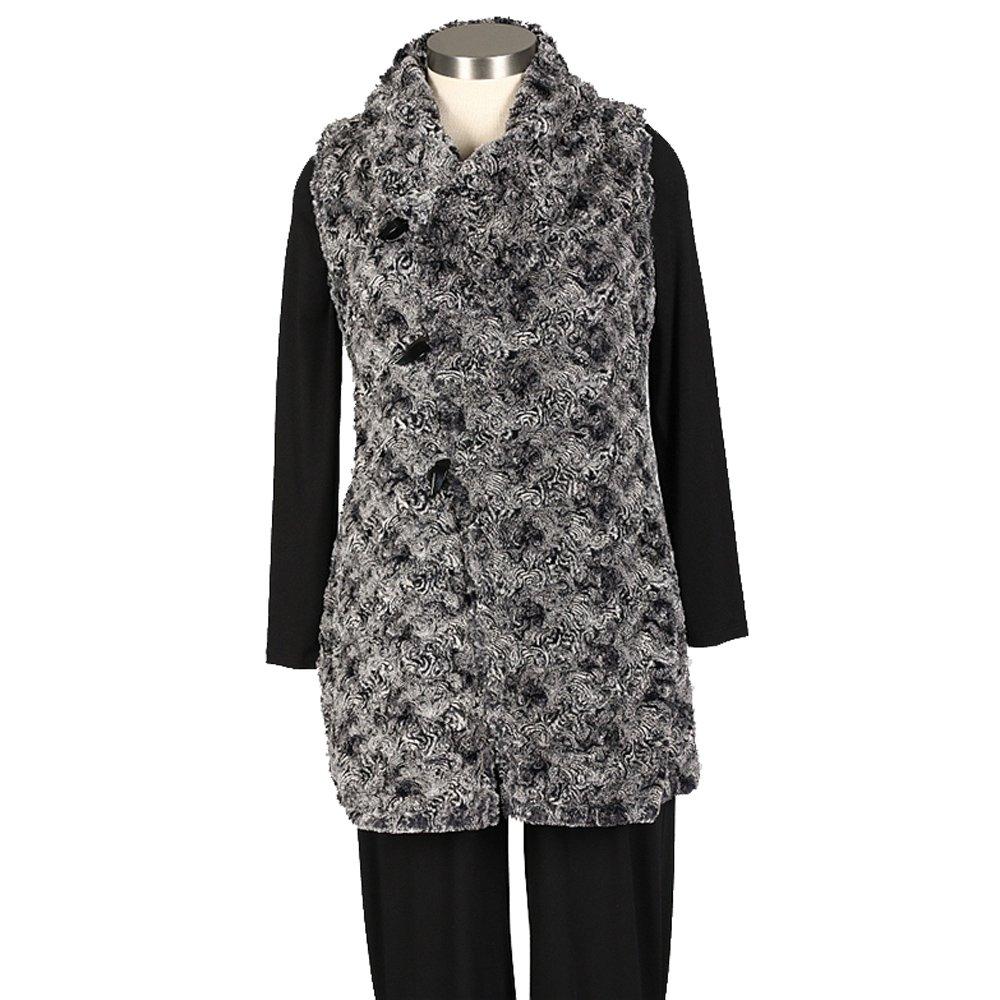 Janska Women's Stella Vest (Black/Grey,S)