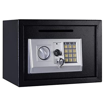 Cypress Shop Digital Safe Box Depository Drop Home Office Security Lock Gun Cash Jewelry Hotel Home