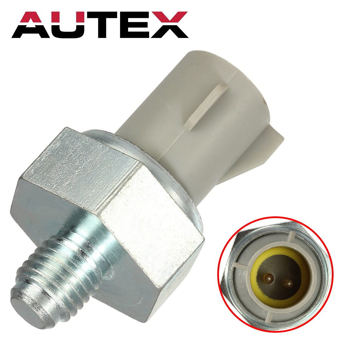 AUTEX 1pc Knock/Detonation Sensor 94DA-12A699-AA F3LY12A699A 2132284 compatible with 1997-1998 Ford E-150 E-250 F-150 1994-1995 Ford Thunderbird 1993-1995 Lincoln Mark Viii
