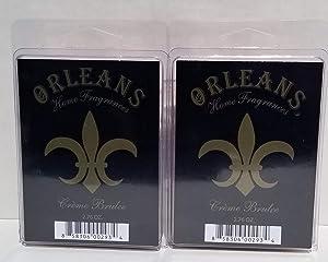 Orleans Home Fragrances Wax Melt (Creme Brulee, 2)