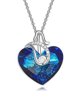 Bonyak Jewelry 18 Inch Rhodium Plated Necklace w// 6mm Green May Birth Month Stone Beads and Saint Daniel Comboni Charm