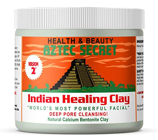 The Aztec Secret Indian Healing Clay travel product recommended by Gretchen Frieling on Pretty Progressive.
