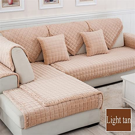 Royal  European Style Thickened Flannel Sofa Mats Modern Minimalist Fashion  Creative Cloth Art Non