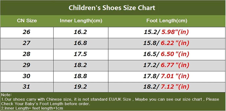 Stillshine Mode B/éb/é Toddler Shoes Bottes de Neige Chaudes et /épaisses pour lhiver Bottes en Fourrure pour gar/çon 26, Noir