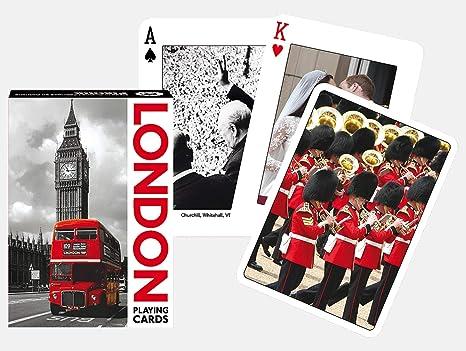 Jeu Carte Angleterre.Piatnik 1351 0 Unique Singles Angleterre Londres Jeux De
