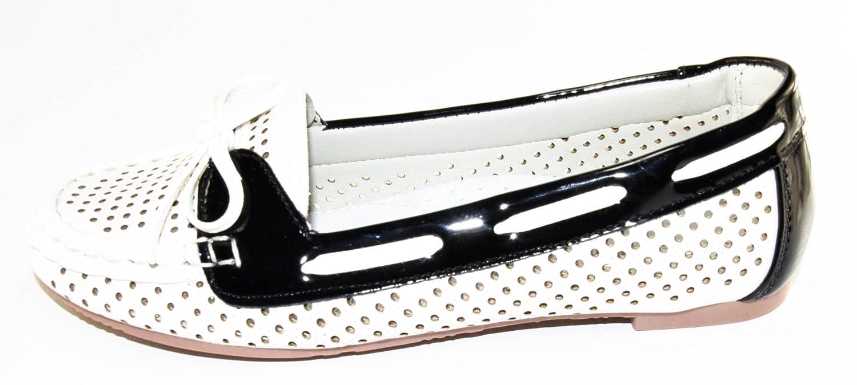BTS - Mocasines de cuero de imitación para niña, color Varios Colores, talla 26: Amazon.es: Zapatos y complementos