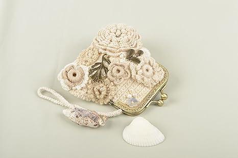 Monedero de mujer hecha a mano cartera mujer accesorios de mujer
