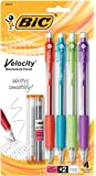 BIC Velocity Original Mechanical Pencil, Thick Point (0.9mm), 4-Count