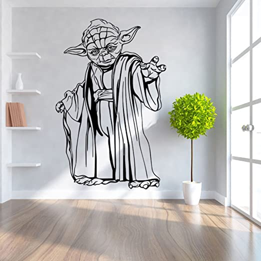 Amazon Com Waldekers Wall Decals Removable Vinyl Pvc Diy Star War Wall Stickers For Kids Room Living Room Office Kitchen Bedroom Home Decor Style 2 Home Kitchen