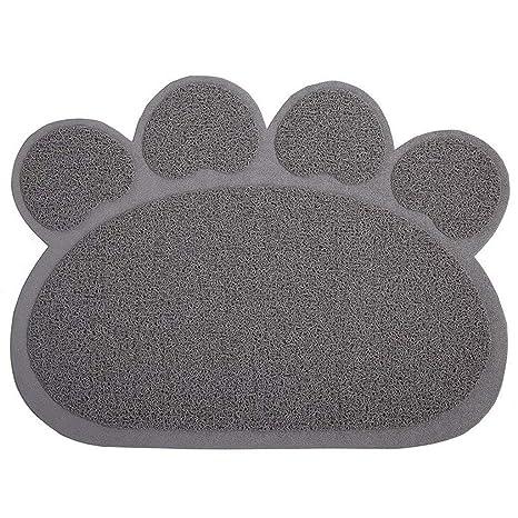 CHONGWFS Fácil De Limpiar Suministros para Mascotas Alfombra De Gato Antideslizante Alfombra De Gato Plegable Alfombra