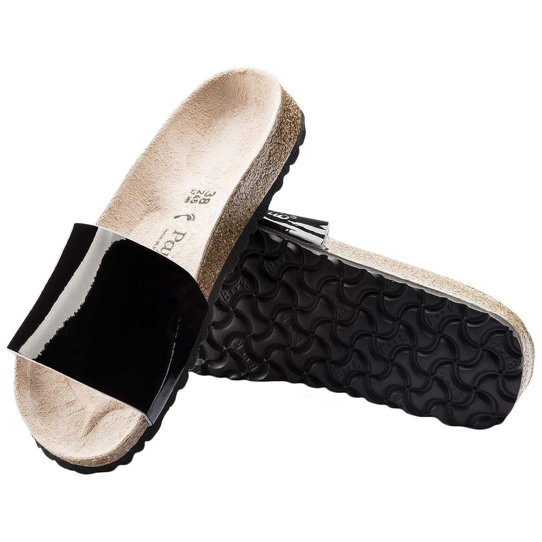 Papillio Papillio Papillio Womens Cora Birko-Flor Patent Sandals B07GC1ZQPV Sandals 1c7cc1