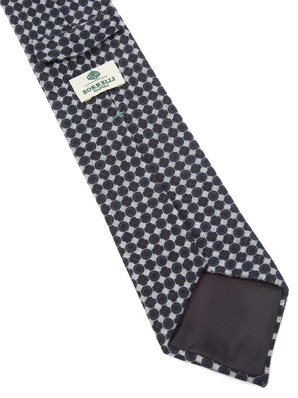 Luigi Borrelli Mens TT402701 Blue Wool Tie