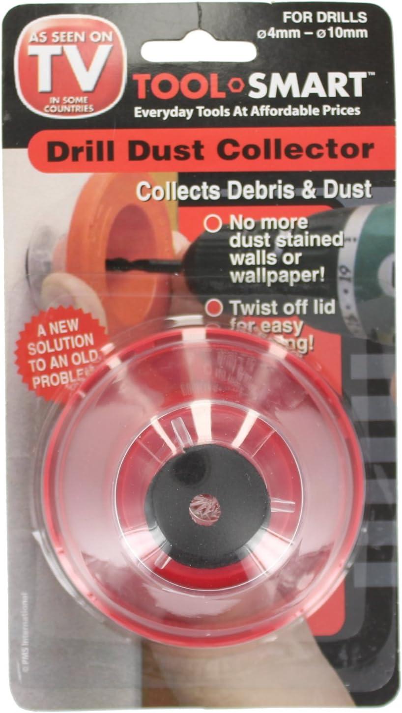 Silverline 868744 4-10 mm Recogedor de polvo para taladro