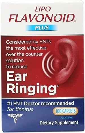 Lipoflavonoid Plus Unique Ear Health 100 Caplets