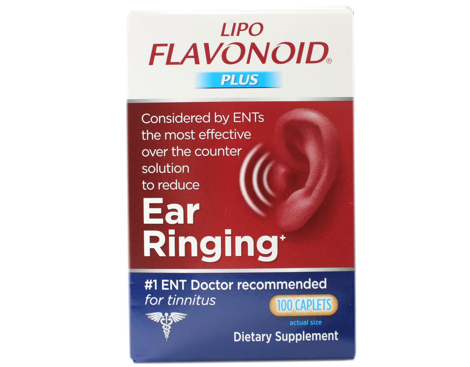 DSE Healthcare Solutions - LipoFlavonoid Plus Extra Strength Unique Ear Health Formula - 100 Caplets