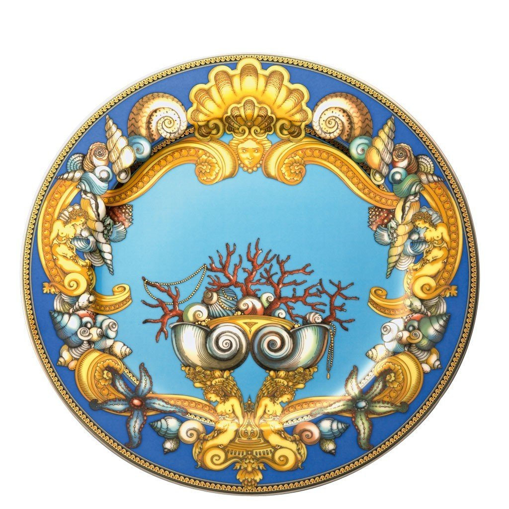 Versace by Rosenthal La Mer Service Plate