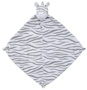 Angel Dear Blankie, Grey Zebra