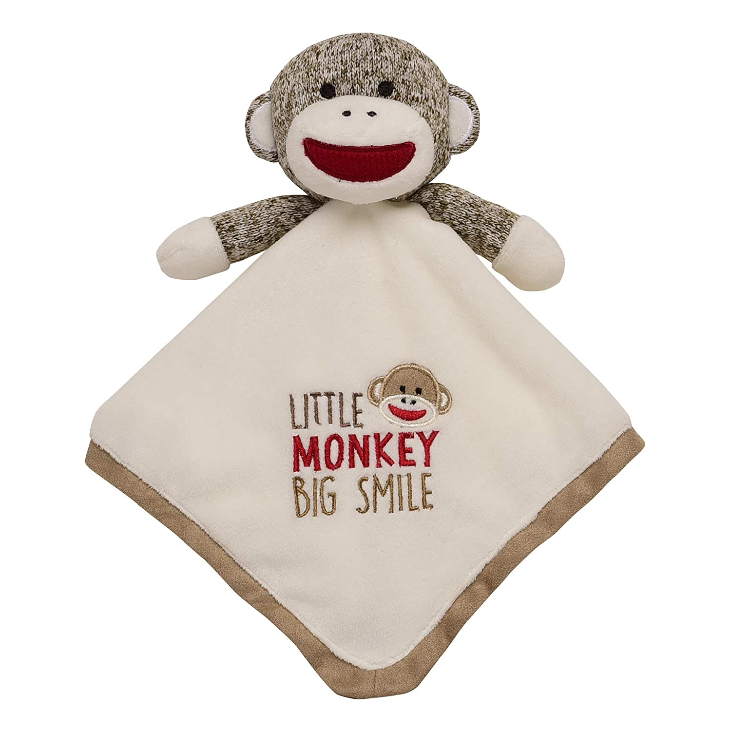 Baby Starters Baby Snuggle Blanket and Toy, Sock Monkey