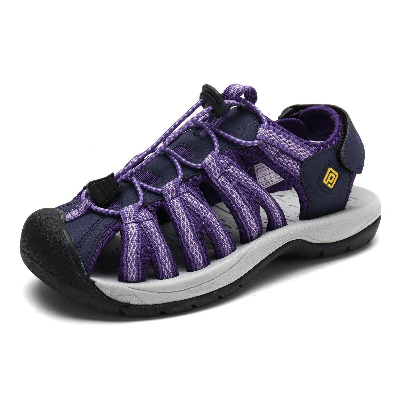 DREAM PAIRS Women's 160912-W Adventurous Summer Outdoor Sandals B077GBSJ95 7 M US|Purple