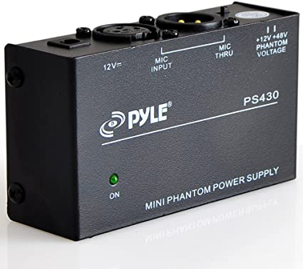 NEW Pyle PS430 Compact 1 Channel 48V Phantom Power Supply Lot of 4