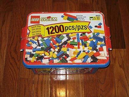Amazon Com Lego 3033 Creator Set Rare 1200 Pieces Year 1998 Toys Games