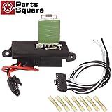 PartsSquare Manual HVAC Blower Motor Resistor 15305077 + 15862656 Wire Harness Connector Replacement for 2002 2003 2004 2005 2006 CHEVROLET AVALANCHE 1500 2001 2002 2003 2004 CHEVROLET SILVERADO 1500