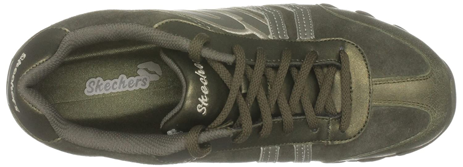 78c9020f7d8 Skechers Women s Speedster - Chillies Olive Casual Lace Ups 99999572 4 UK   Amazon.co.uk  Shoes   Bags